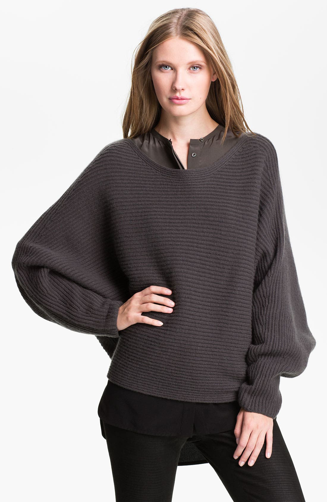 Alternate Image 1 Selected - Vince Boatneck Sweater