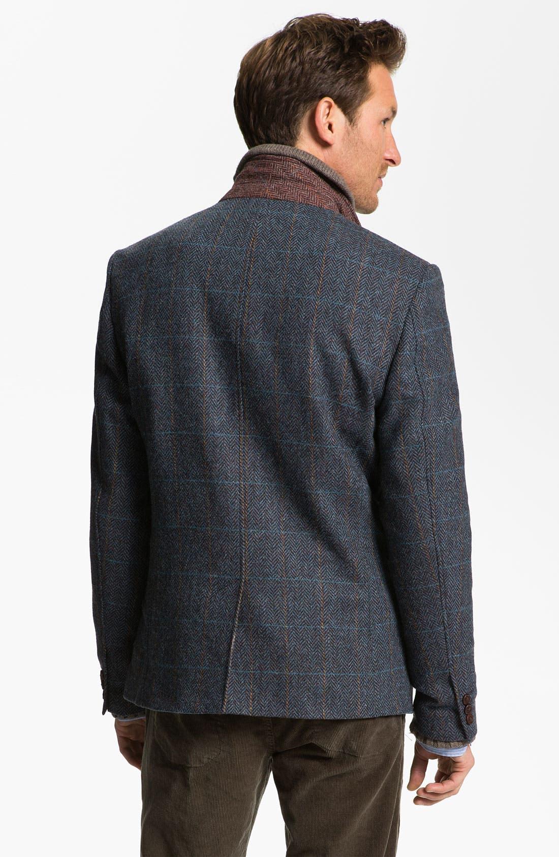 Alternate Image 2  - Ted Baker London 'Rythjak' Shetland Wool Blazer