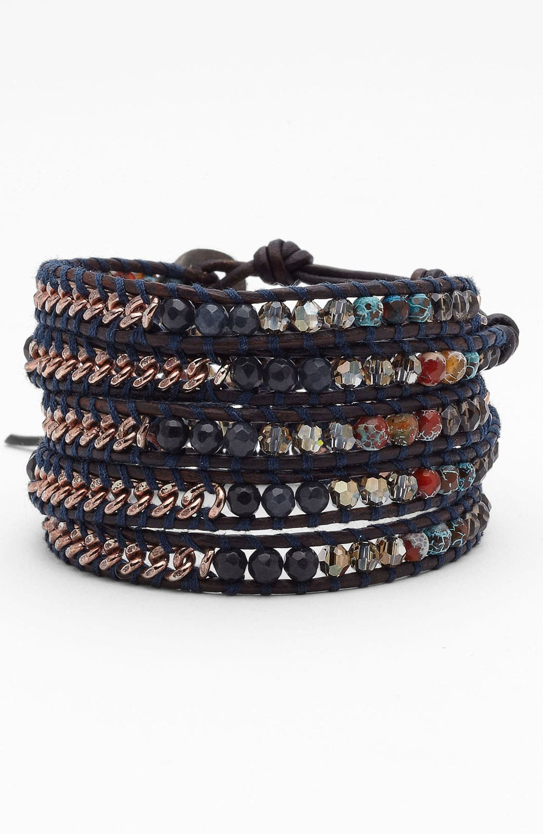 Alternate Image 1 Selected - Chan Luu 'Shale Mix' Wrap Bracelet