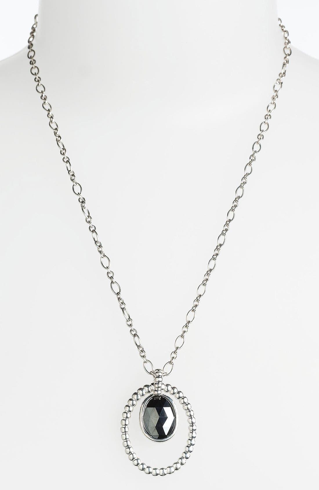Alternate Image 1 Selected - John Hardy 'Bedeg' Oval Pendant Necklace