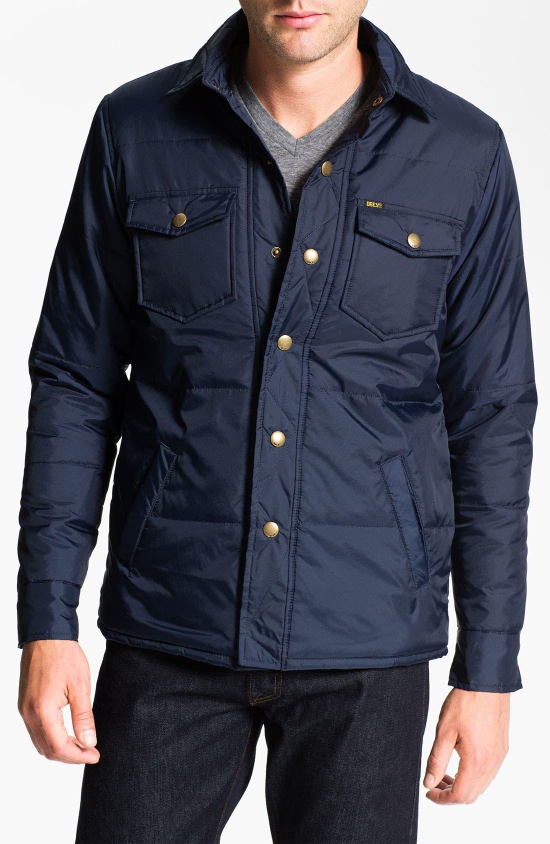 Main Image - Obey 'Campbell' Shirt Jacket