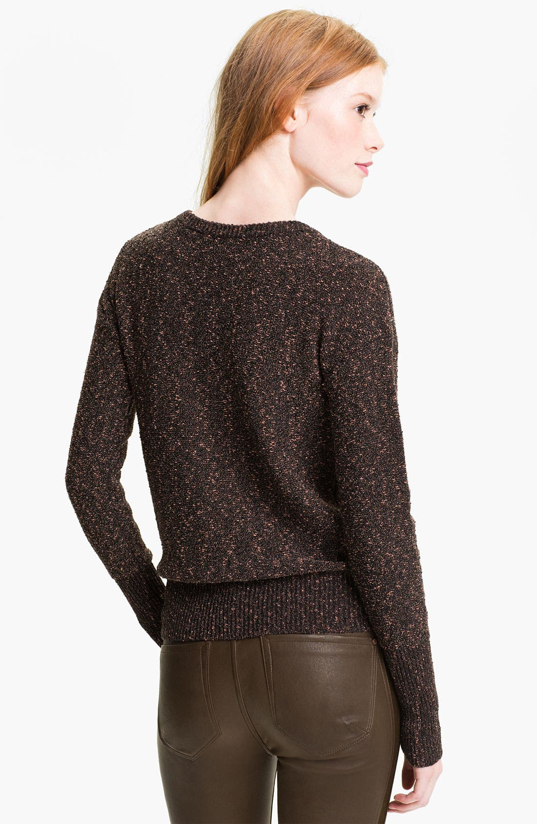 Alternate Image 2  - MARC BY MARC JACOBS 'Sparkle Tweed' Sweater