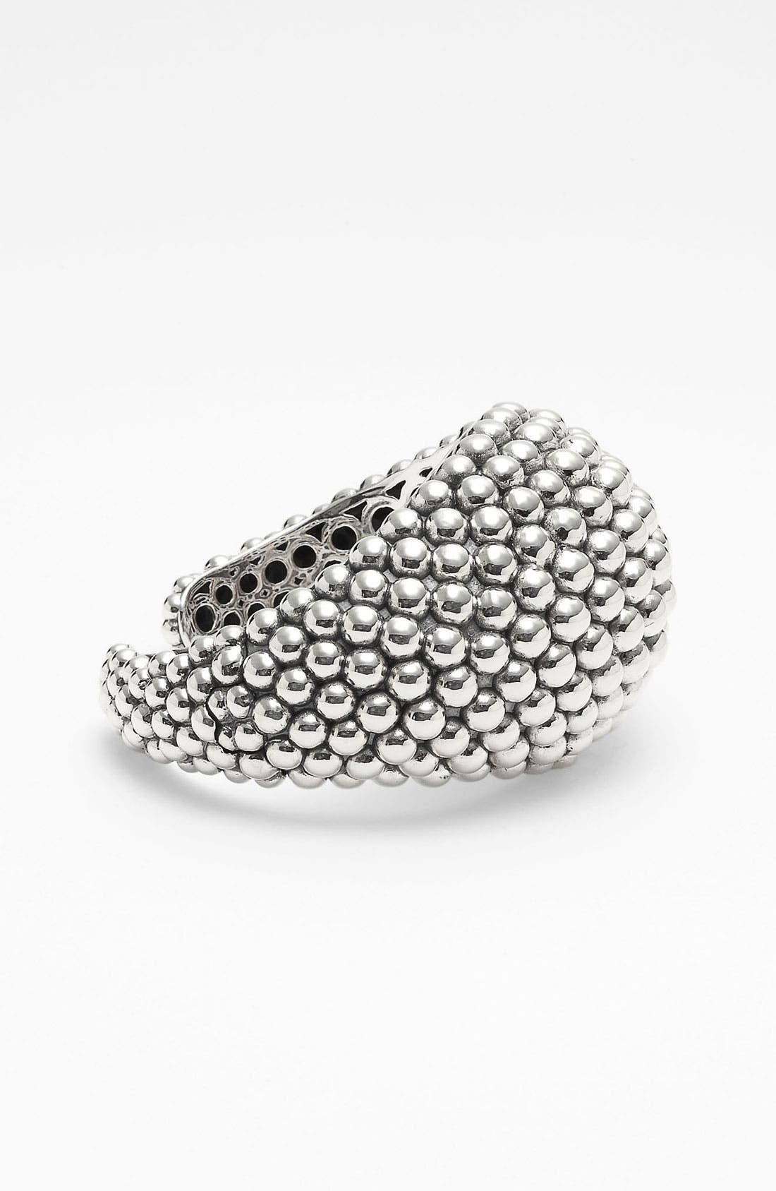 Alternate Image 2  - LAGOS 'Bold' Caviar Wide Cuff