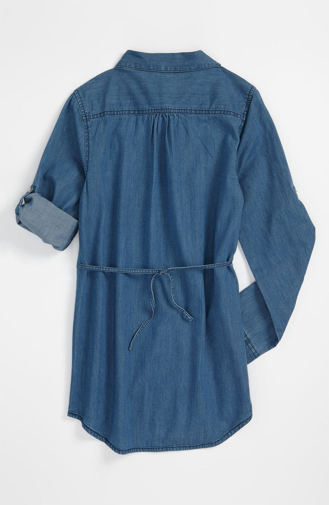 Alternate Image 2  - Tucker + Tate 'Caroline' Denim Tunic (Big Girls)
