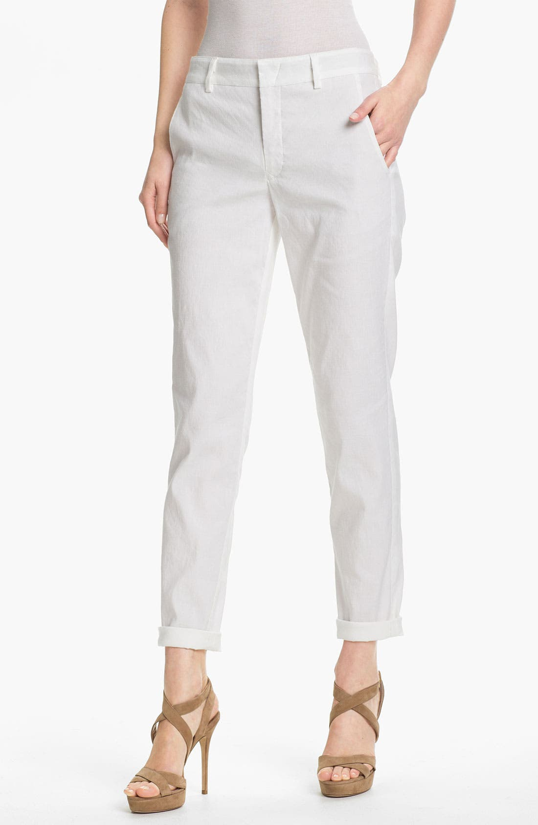 Alternate Image 1 Selected - Vince Relaxed Trousers