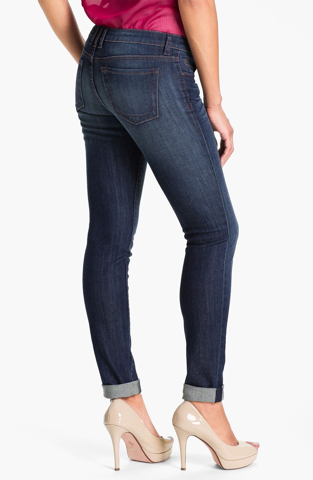 Alternate Image 2  - KUT from the Kloth 'Diana' Skinny Jeans (Wise) (Online Only)