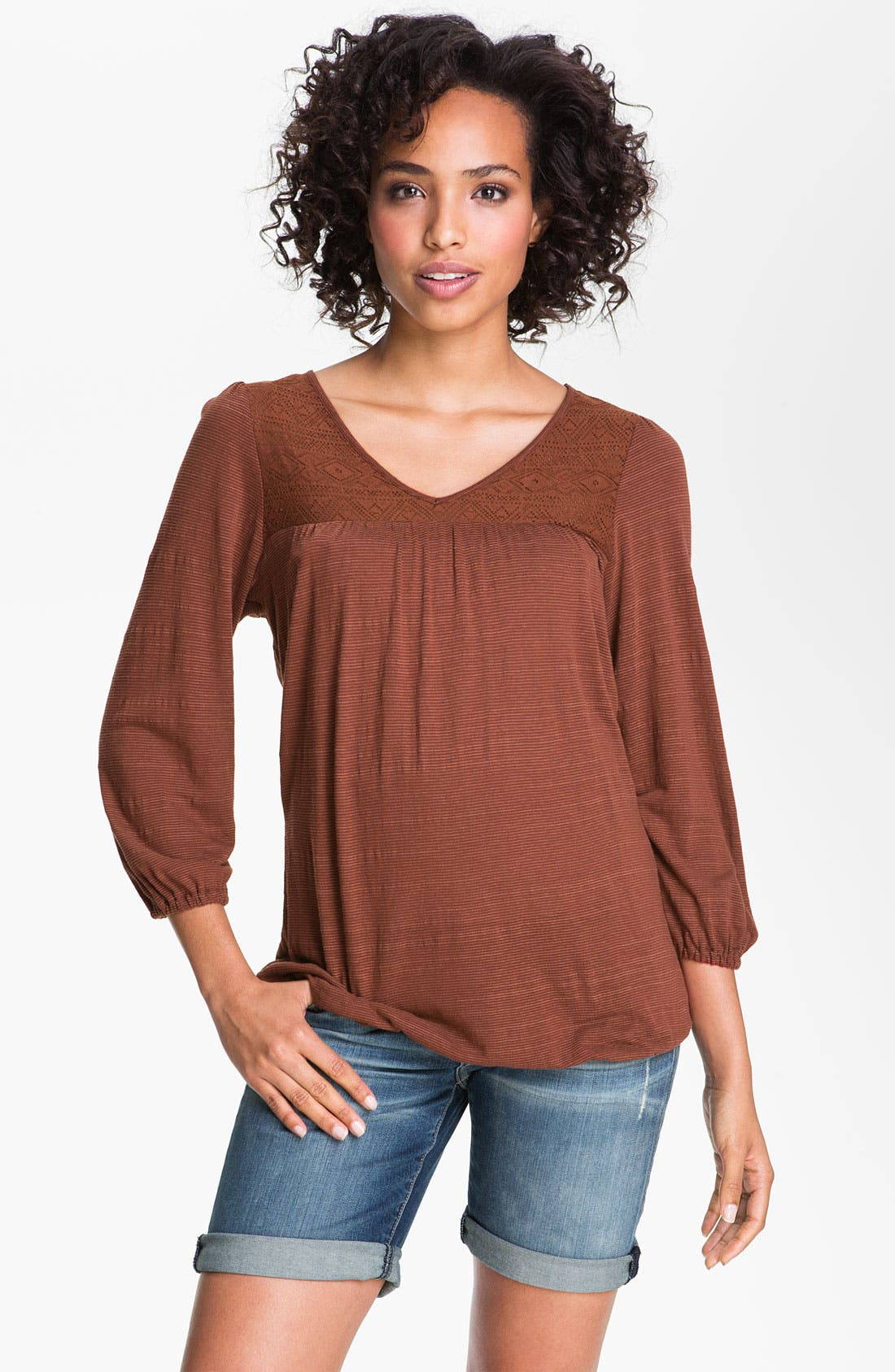 Alternate Image 1 Selected - Lucky Brand Top