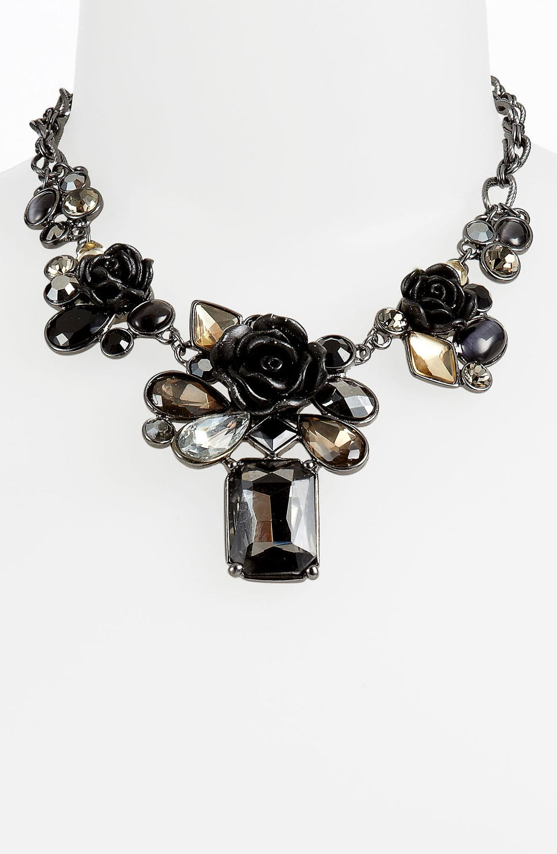 Alternate Image 1 Selected - Nordstrom 'Dark Glamour' Frontal Necklace