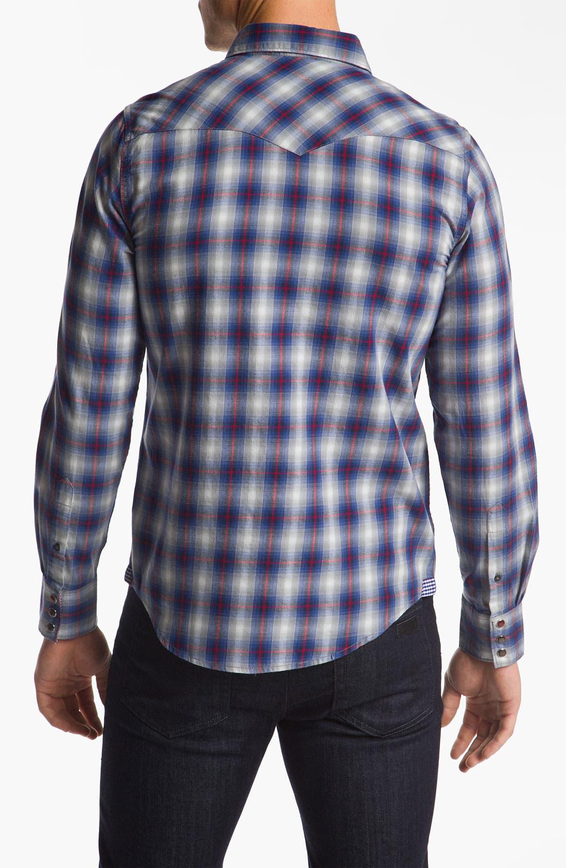 Alternate Image 2  - Ben Sherman Plaid Woven Shirt