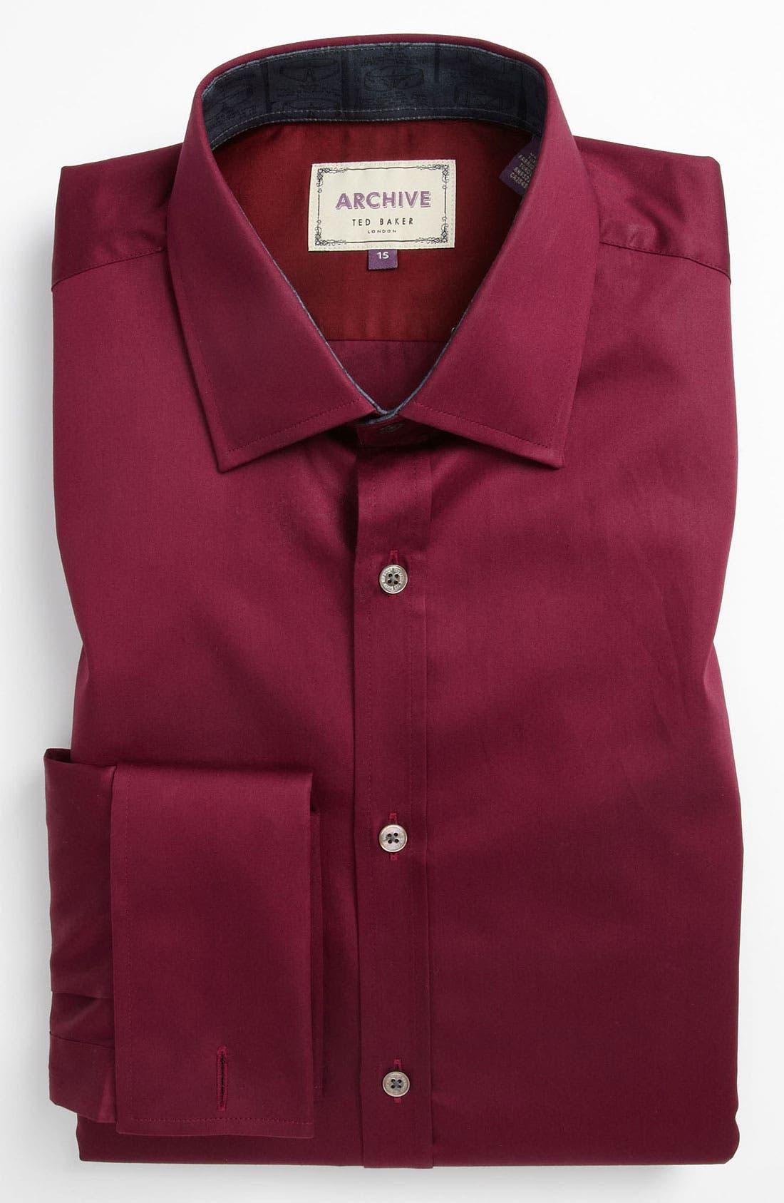Main Image - Ted Baker London Trim Fit Dress Shirt