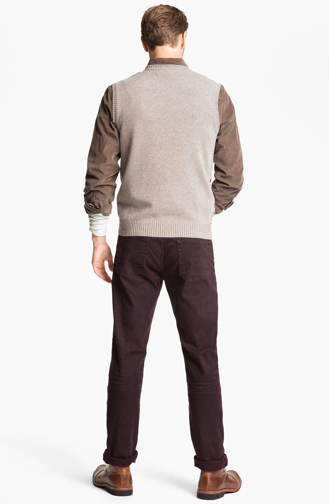 Alternate Image 5  - Fiesole V-Neck Wool Blend Sweater Vest