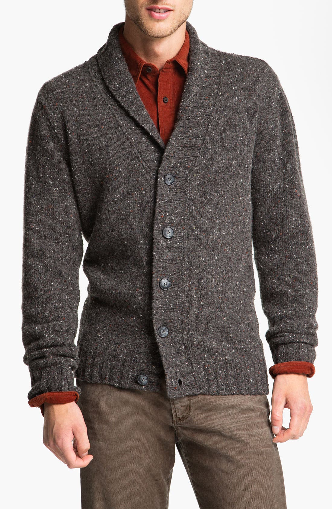 Alternate Image 1 Selected - Fiesole Shawl Collar Wool Blend Cardigan