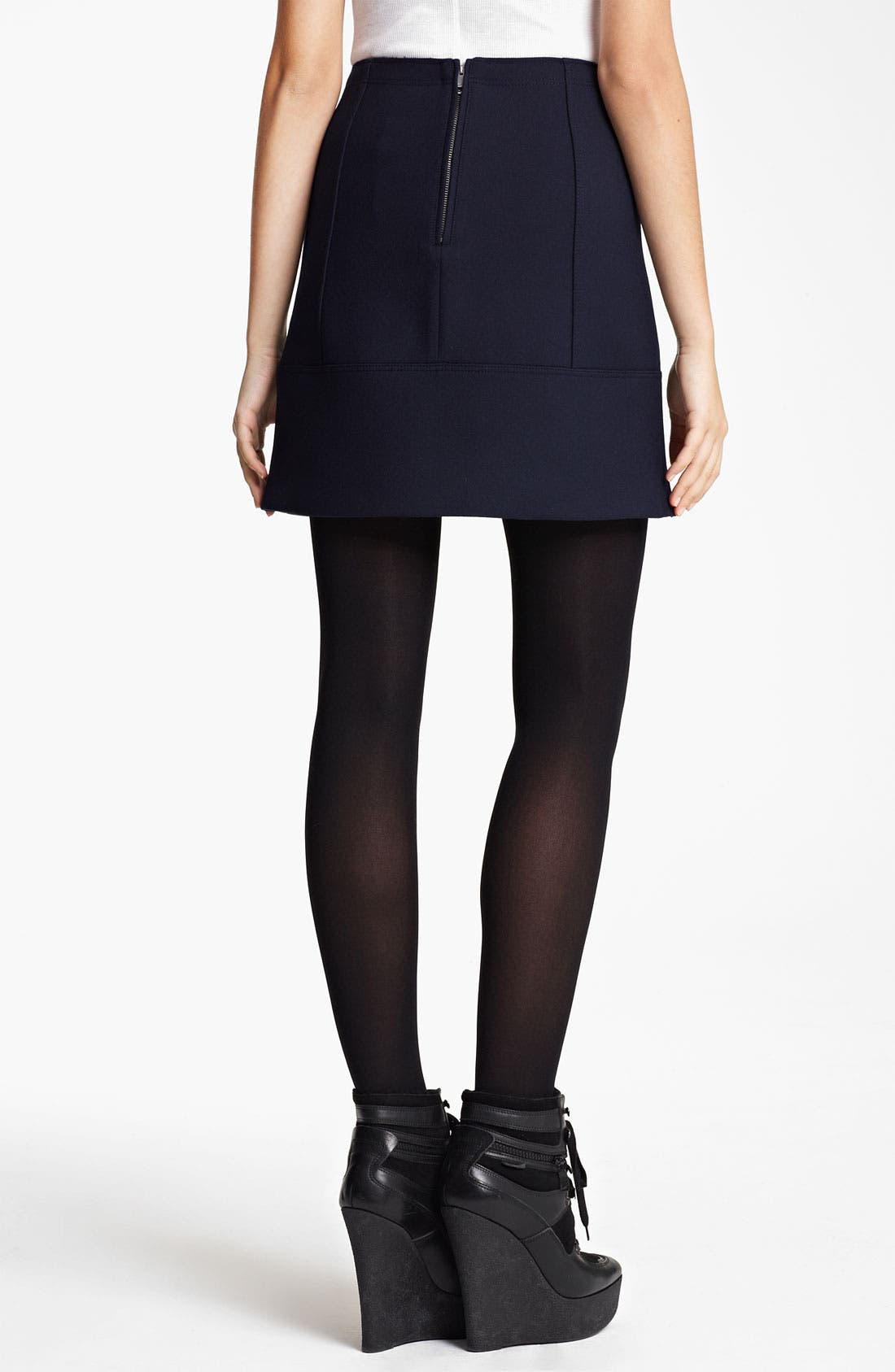 Alternate Image 2  - Burberry Brit Seamed Skirt