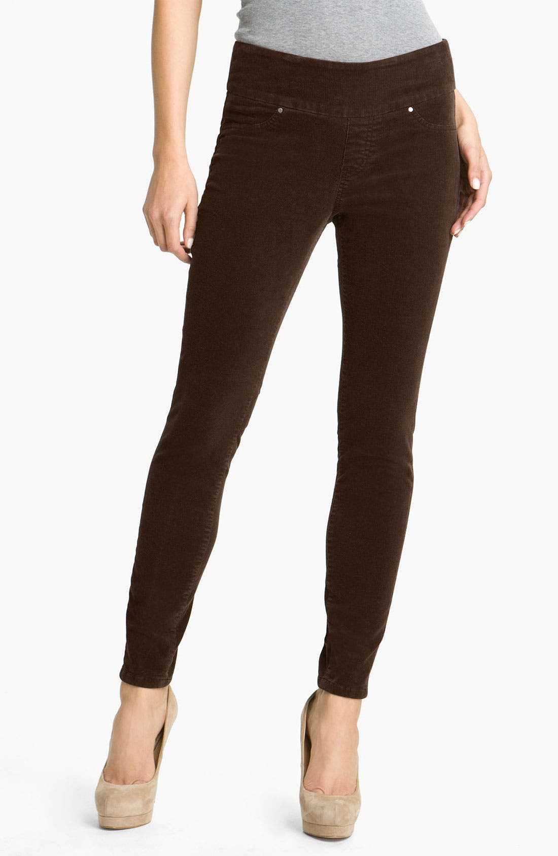 Alternate Image 2  - Jag Jeans 'Nikki' Corduroy Leggings
