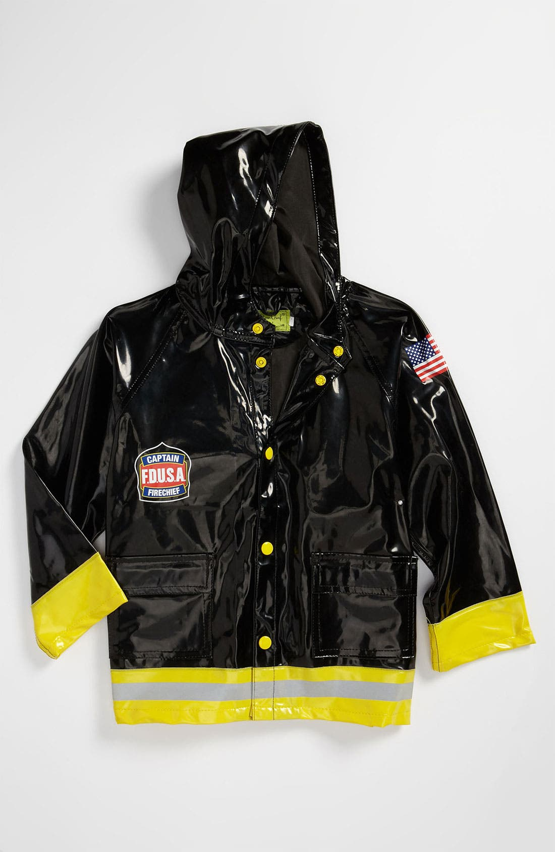 Alternate Image 1 Selected - Western Chief 'Fire Chief' Raincoat (Toddler, Little Boys & Big Boys)