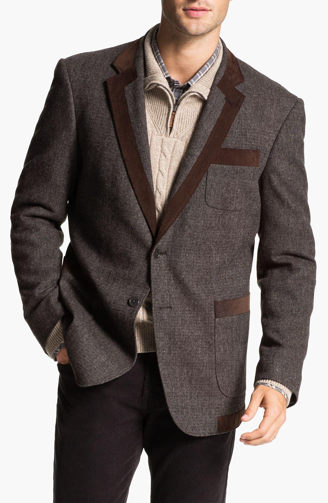Alternate Image 1 Selected - W.R.K 'Prep' Wool Blend Blazer