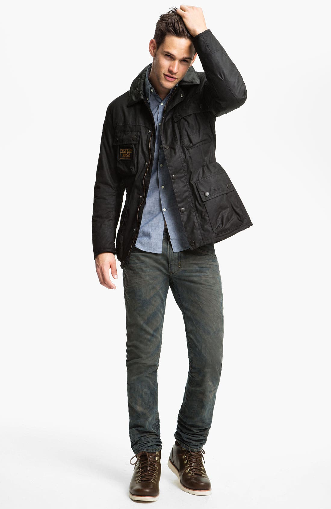 Alternate Image 4  - Barbour 'Surtees' Wax Cotton Jacket