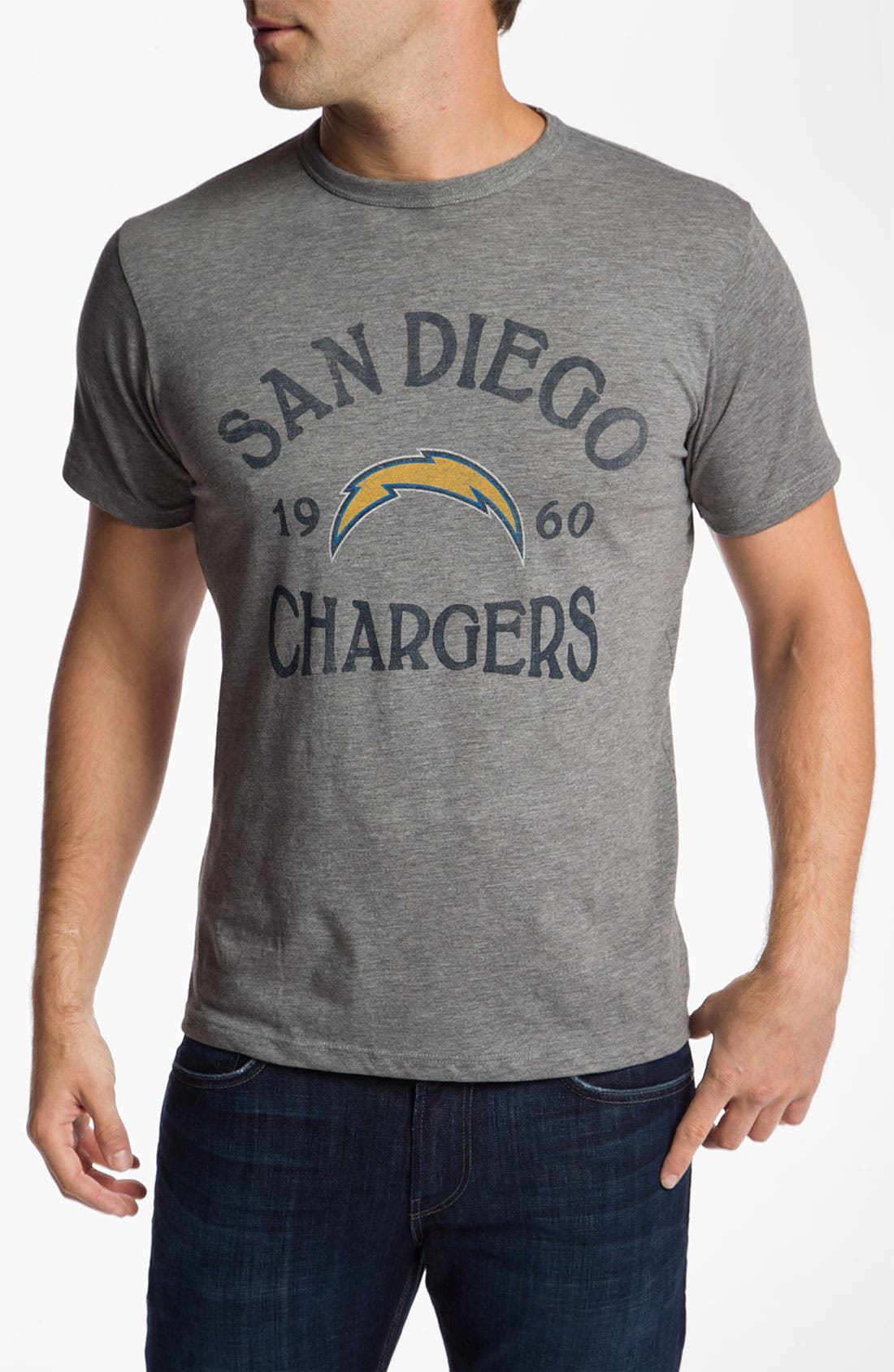 Alternate Image 1 Selected - Banner 47 'San Diego Chargers' T-Shirt