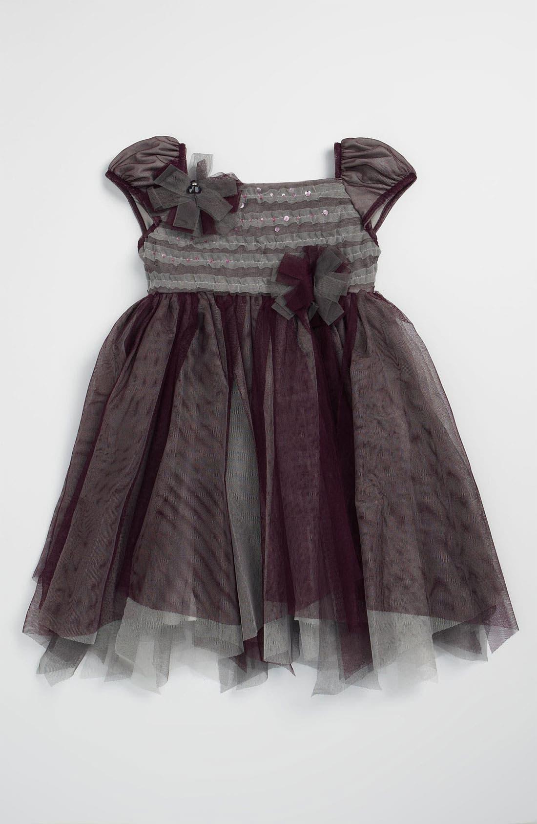 Alternate Image 1 Selected - Isobella & Chloe 'Plum Kisses' Dress (Toddler)