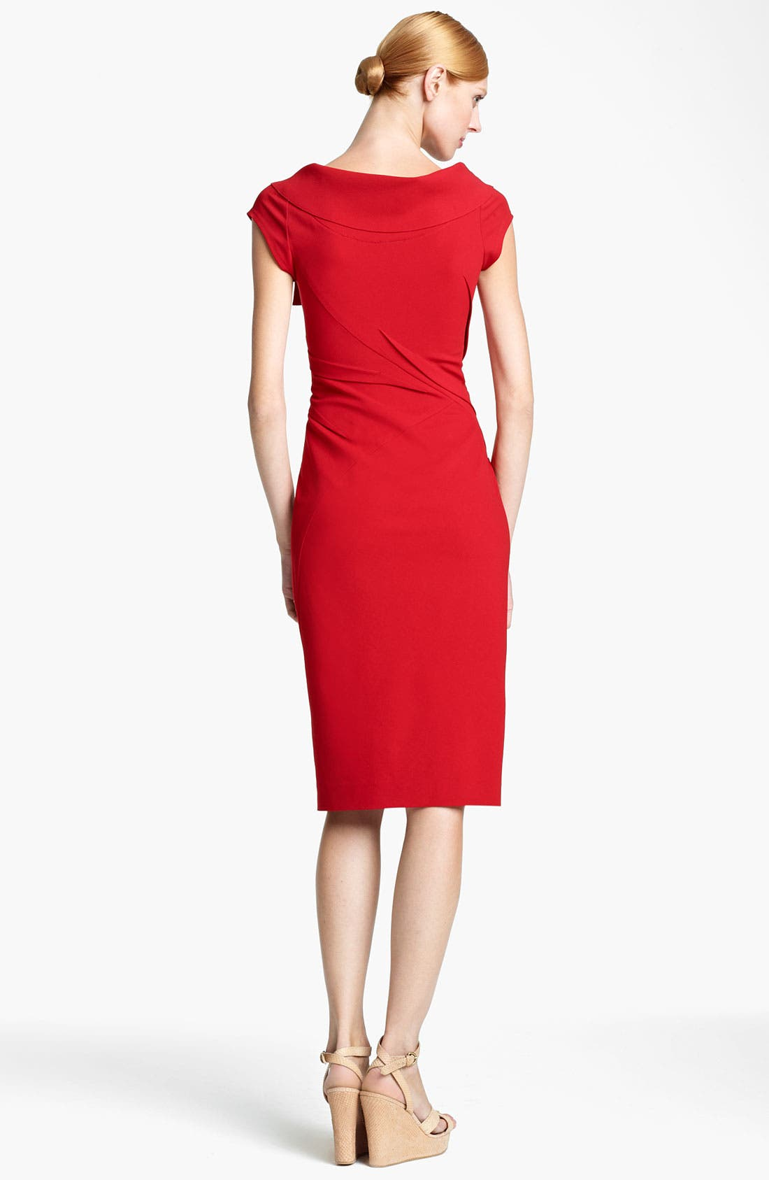 Alternate Image 2  - Donna Karan Collection Matte Jersey Dress