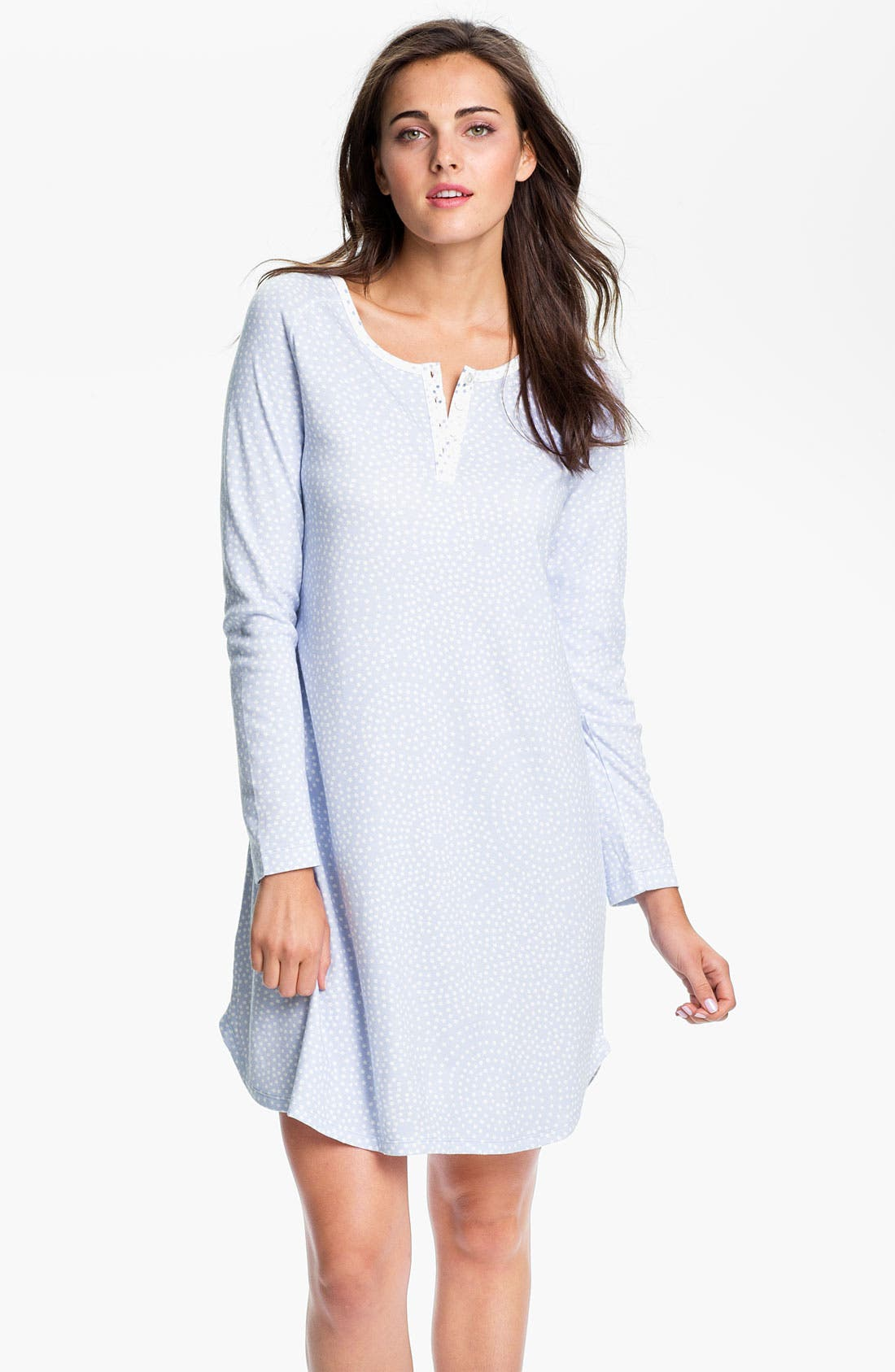 Alternate Image 1 Selected - Carole Hochman Designs Interlock Knit Sleep Shirt