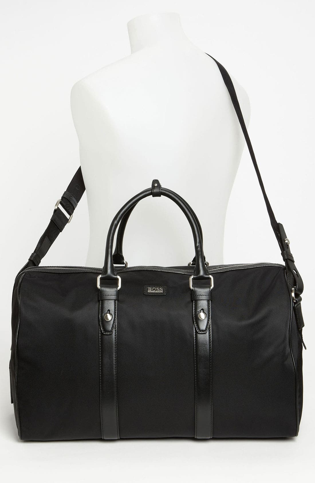 Alternate Image 4  - BOSS Black 'Teddi' Duffel Bag