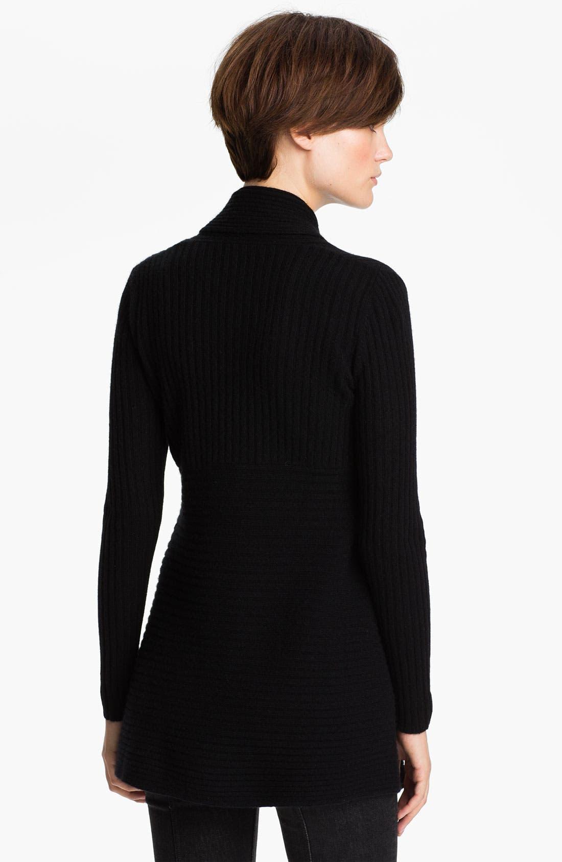 Alternate Image 2  - autumn cashmere Shawl Collar Drape Cardigan