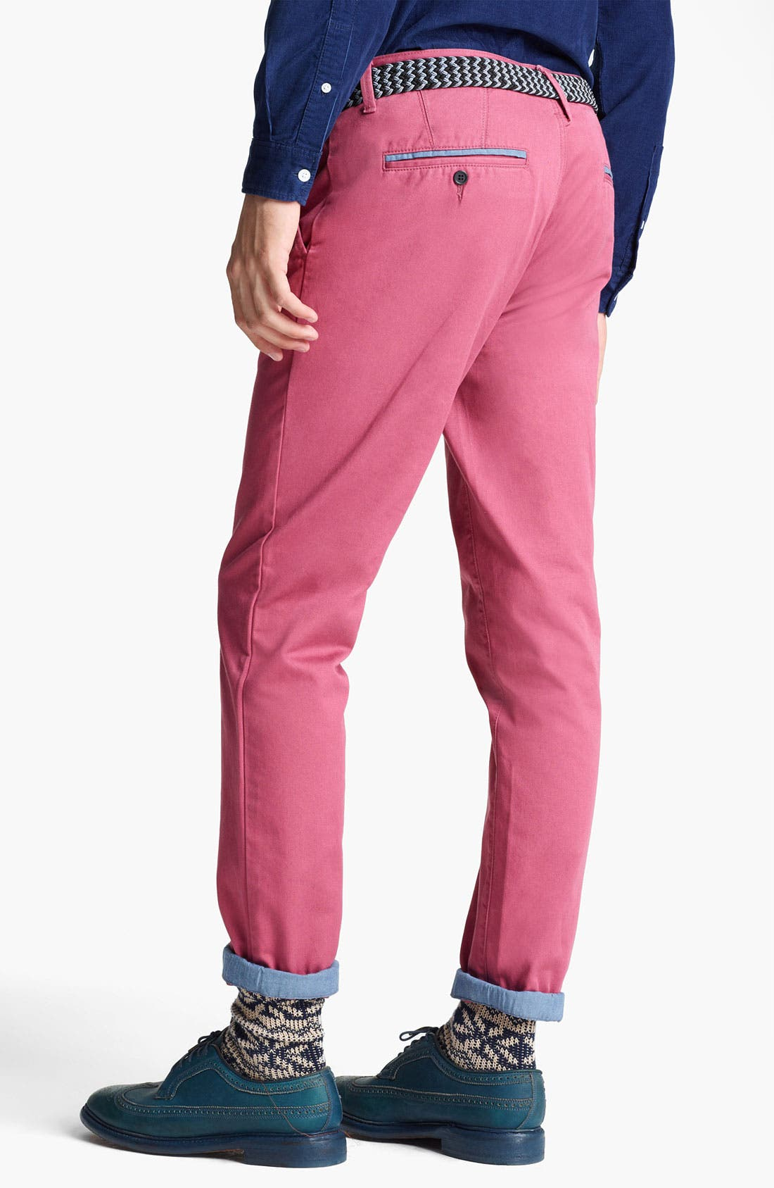 Alternate Image 2  - Topman Skinny Chinos