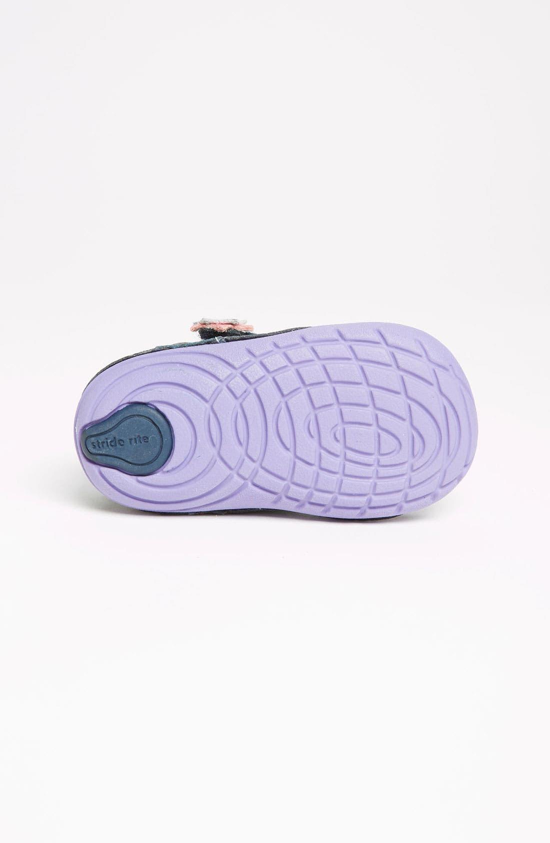Alternate Image 4  - Stride Rite 'Viola' Sneaker (Baby & Walker)
