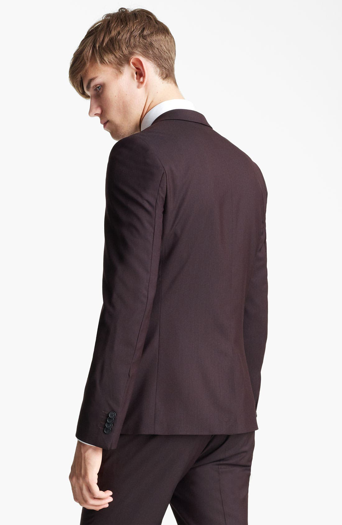 Alternate Image 2  - Topman Ultra Skinny Suit Jacket