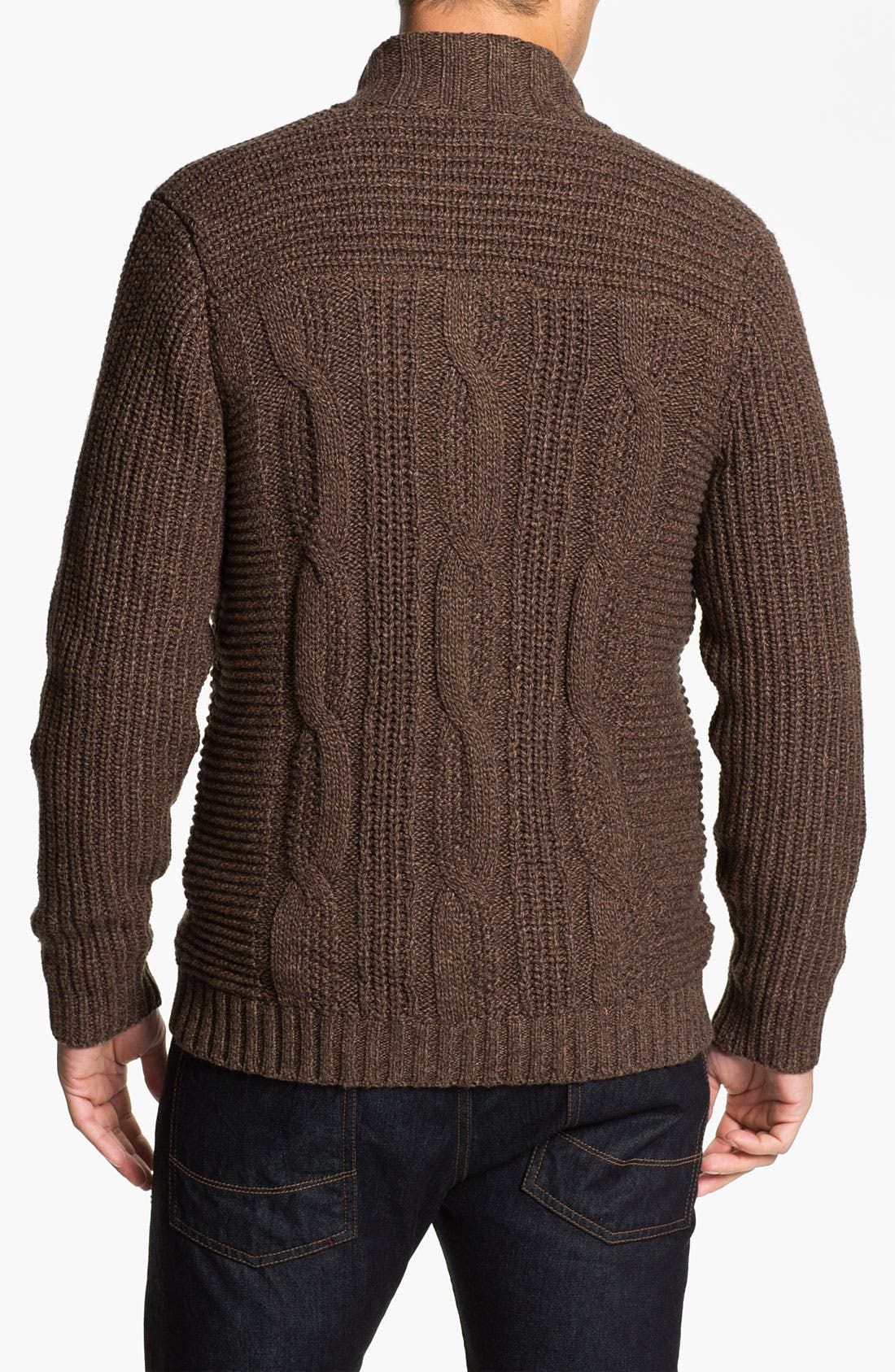 Alternate Image 2  - Ted Baker London 'Nonoise' Cable Knit Cardigan