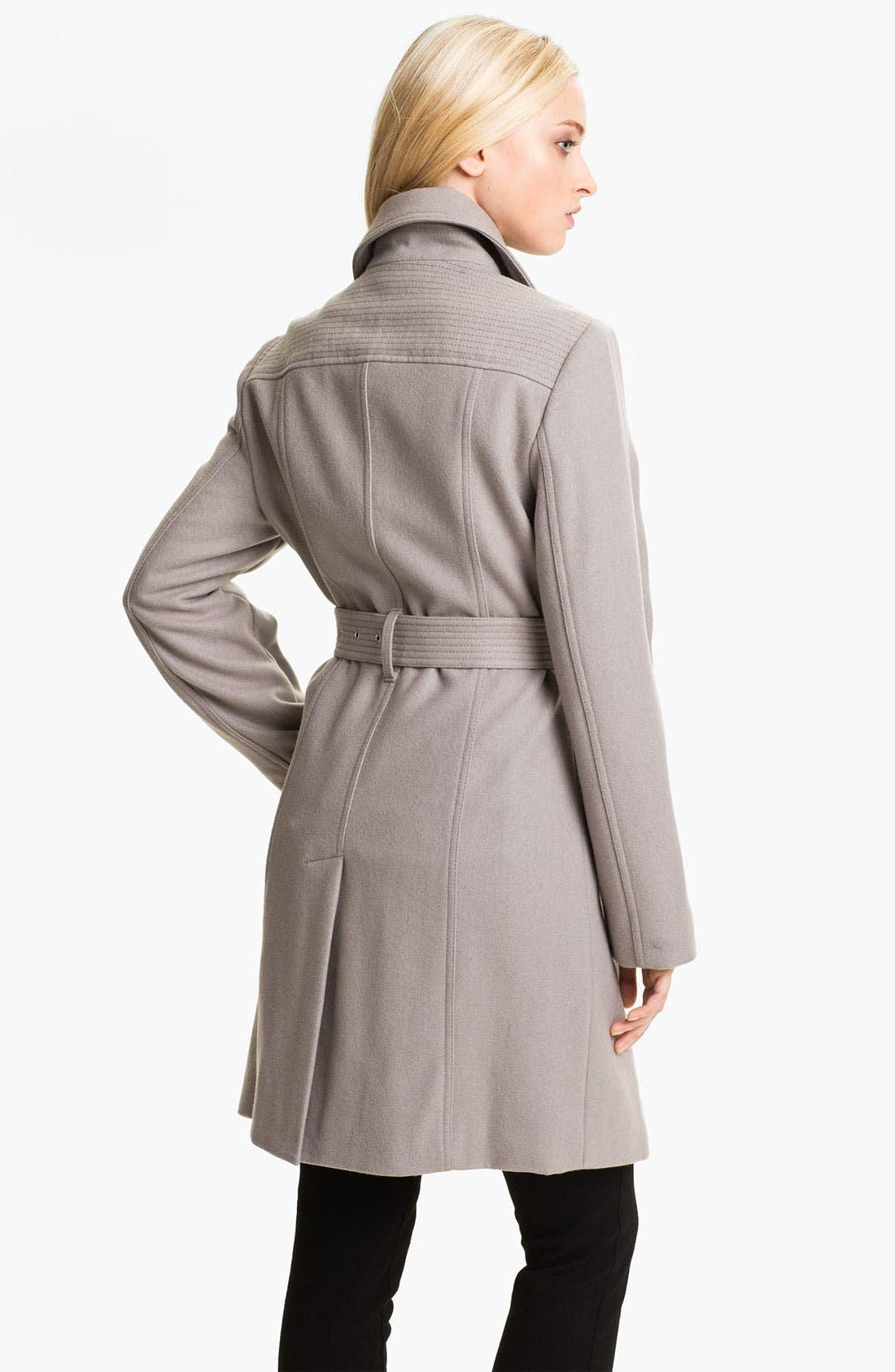 Alternate Image 2  - Kenneth Cole New York Wool Blend Trench Coat