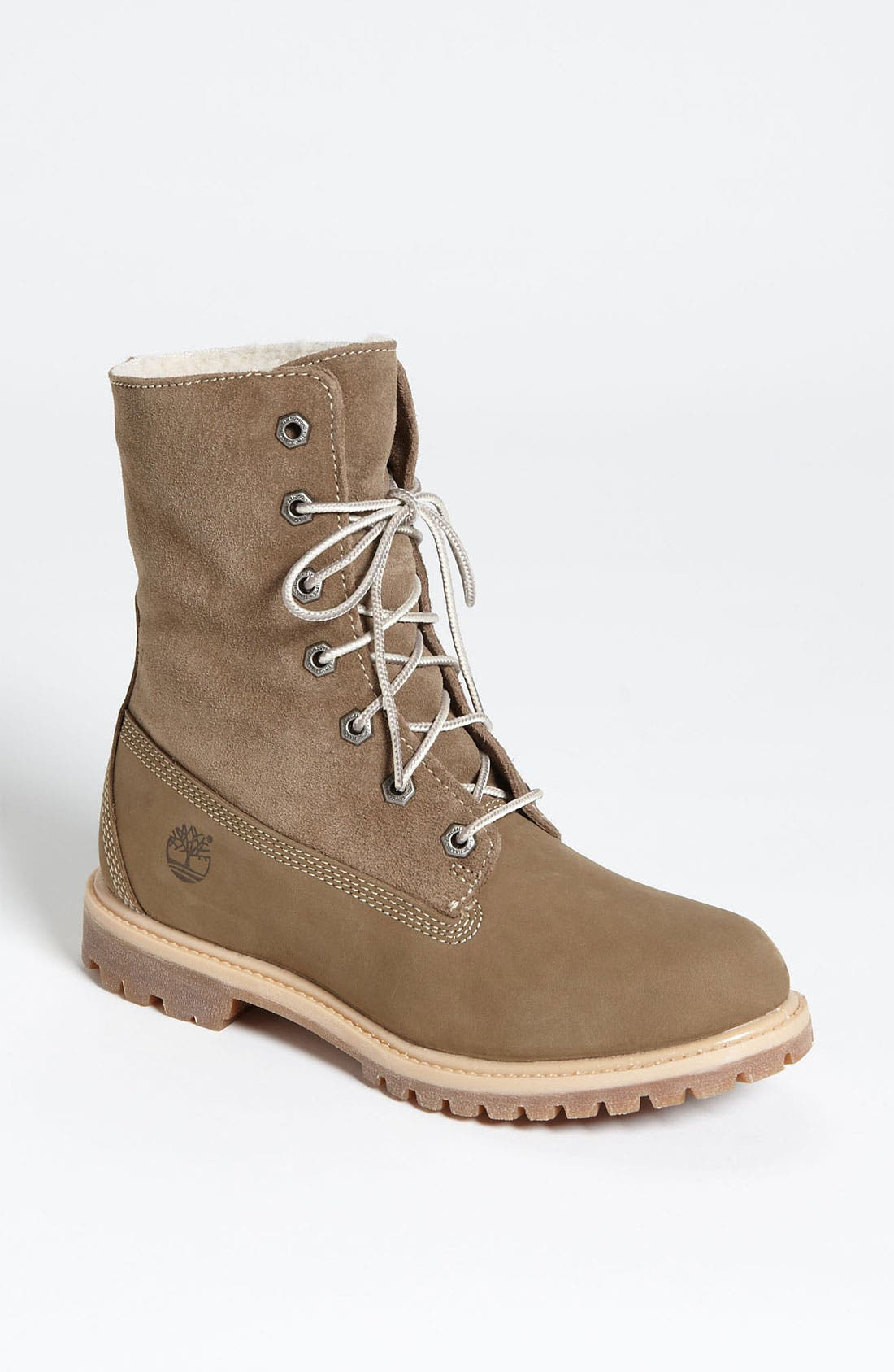Main Image - TIMBERLAND AUTHENTICE TEDDY FLEECE FOLD DOWN BOOT