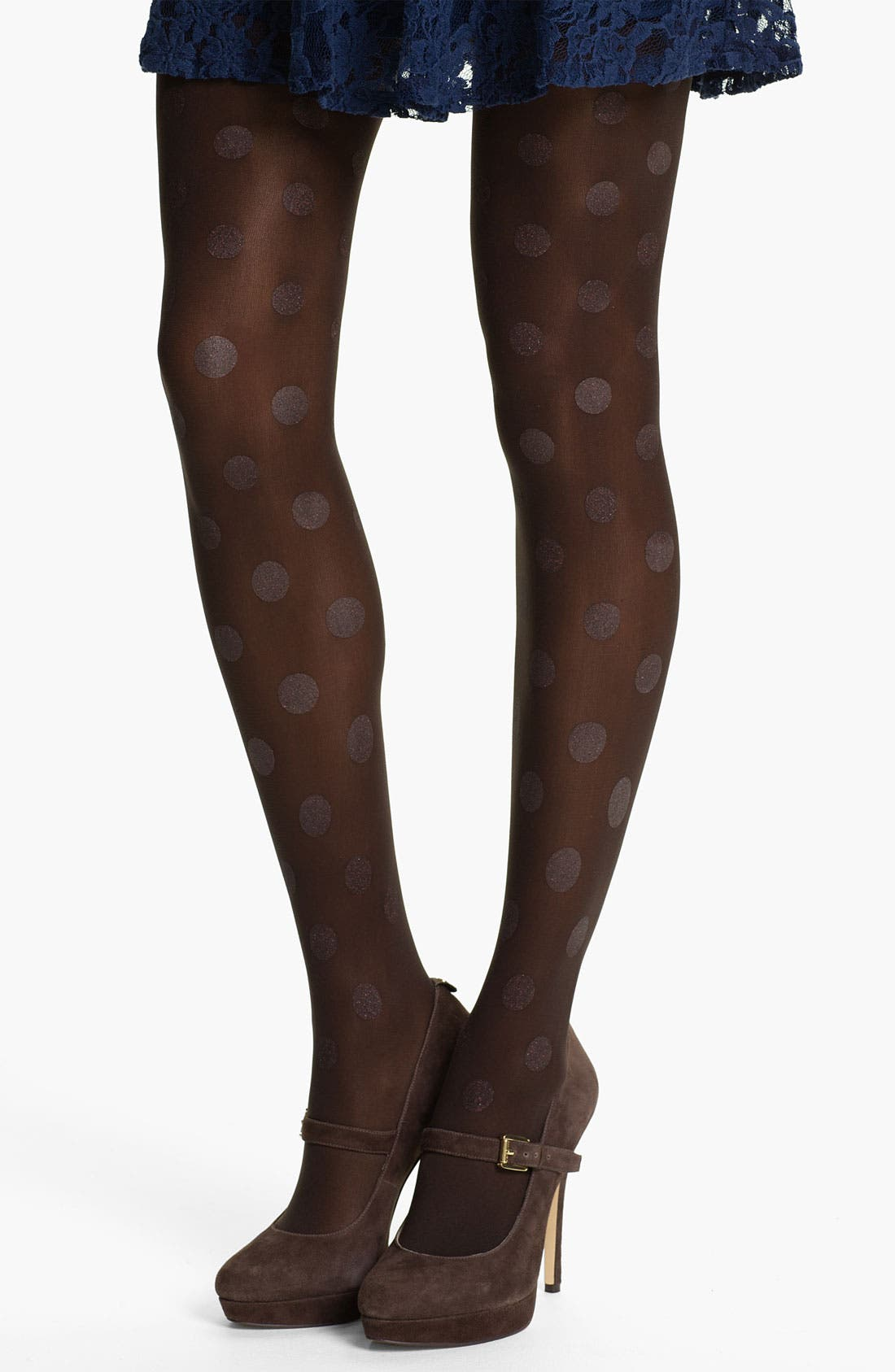 Alternate Image 1 Selected - Hue Glitter Dot Tights