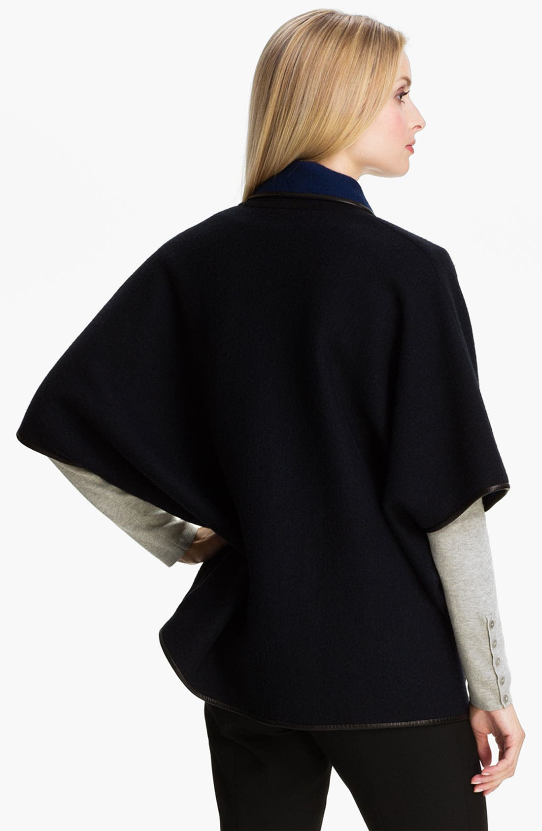 Alternate Image 2  - Classiques Entier® Boiled Wool Cardigan