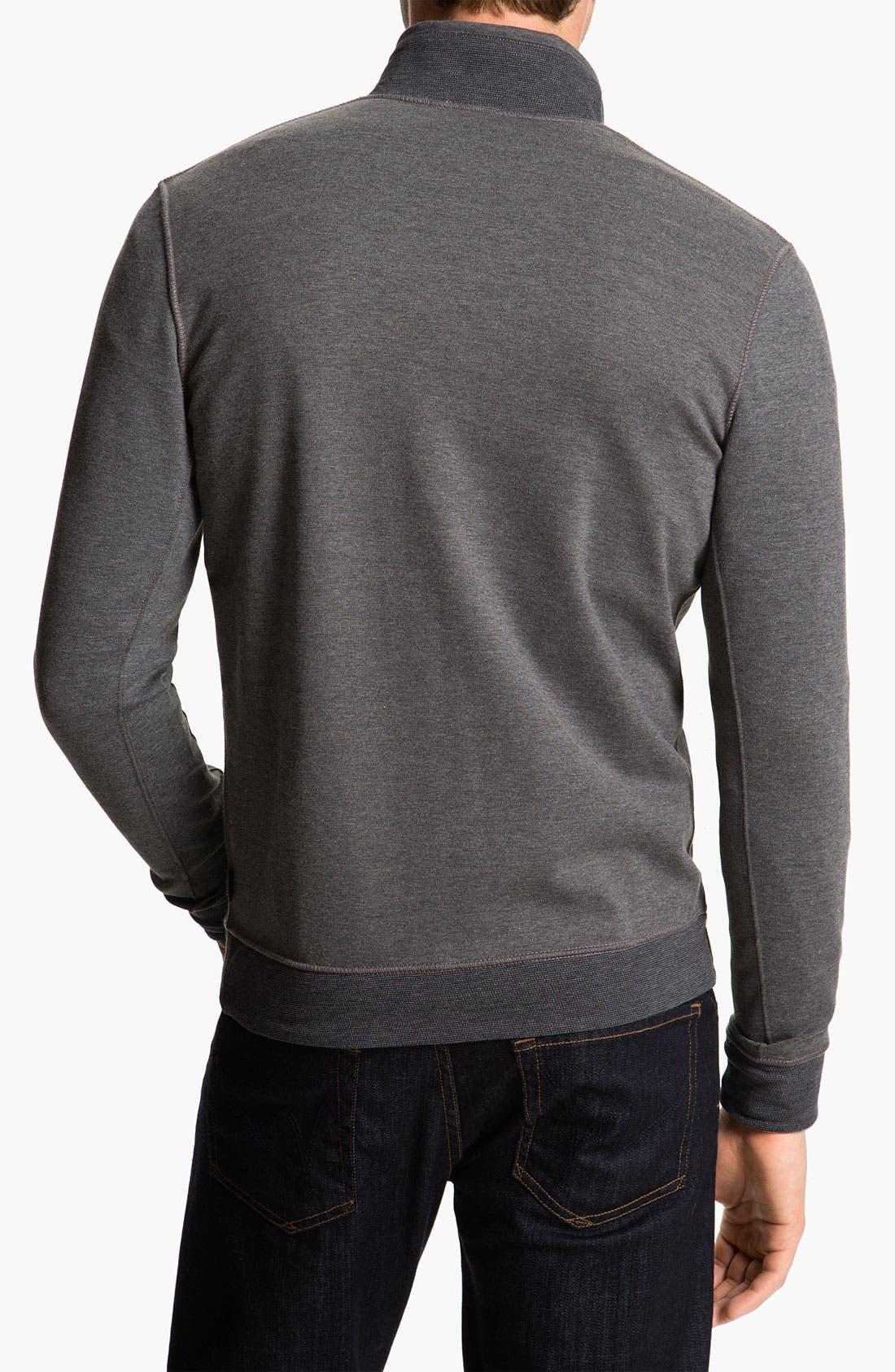 Alternate Image 2  - BOSS Black 'Fossa 05' Sweatshirt