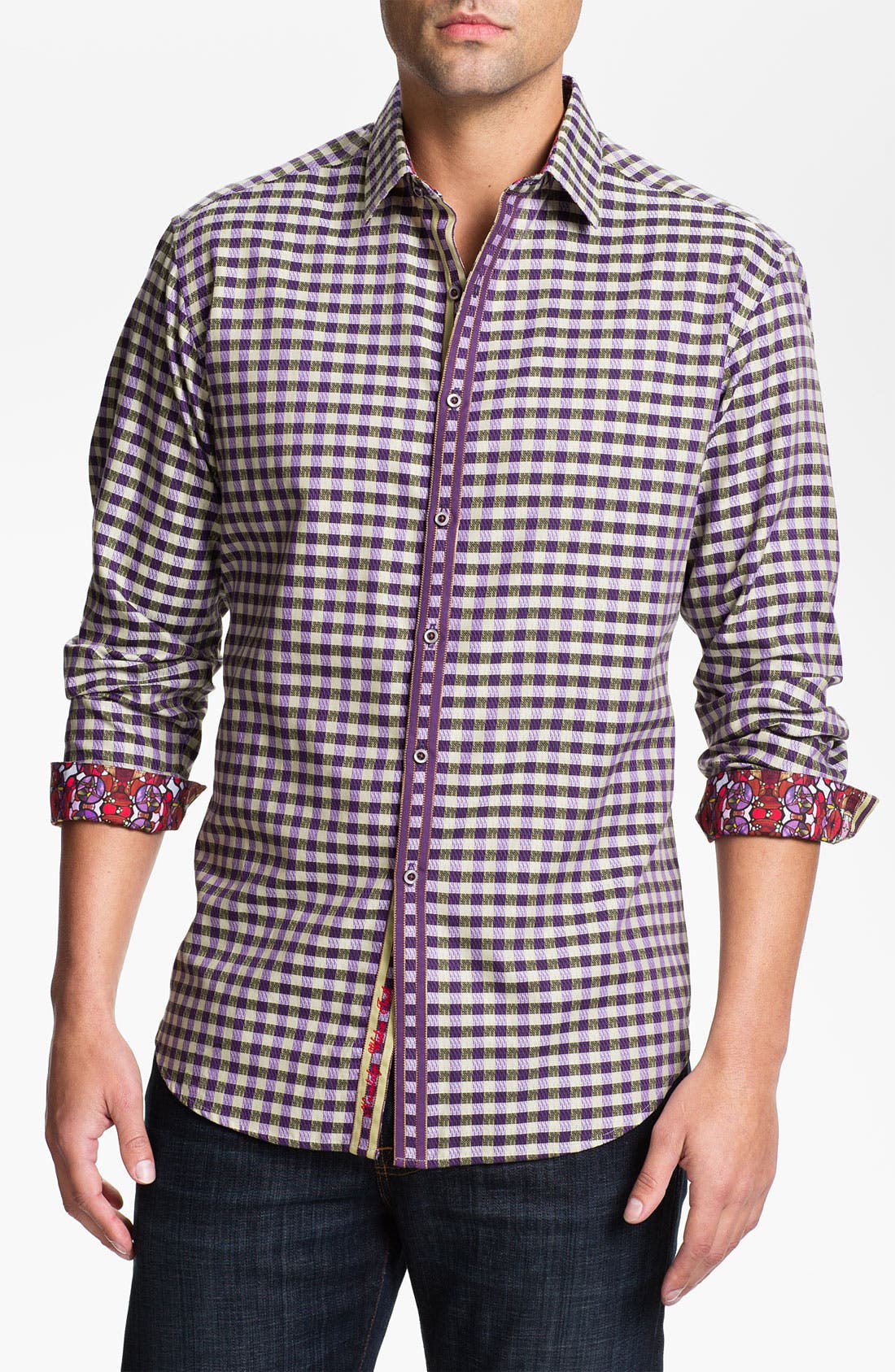 Alternate Image 1 Selected - Robert Graham 'Augustine' Sport Shirt