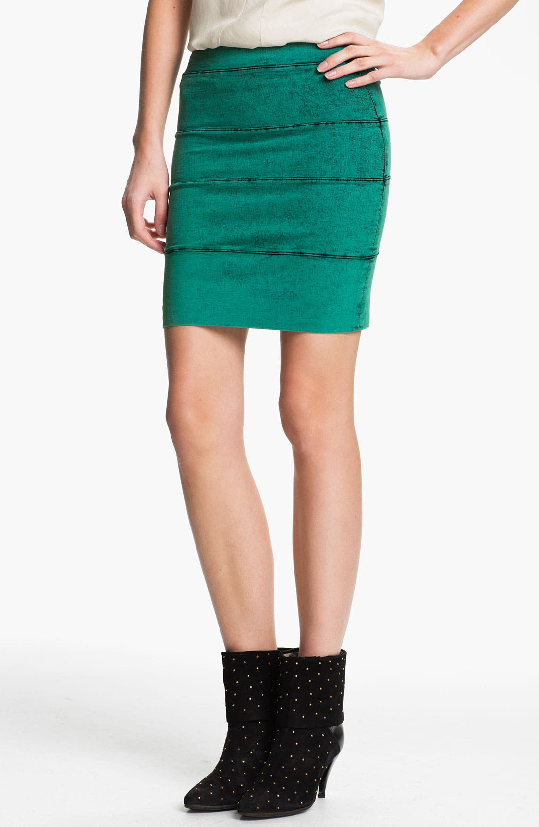 Main Image - Kelly Wearstler 'Mineral Wash' Stretch Twill Skirt