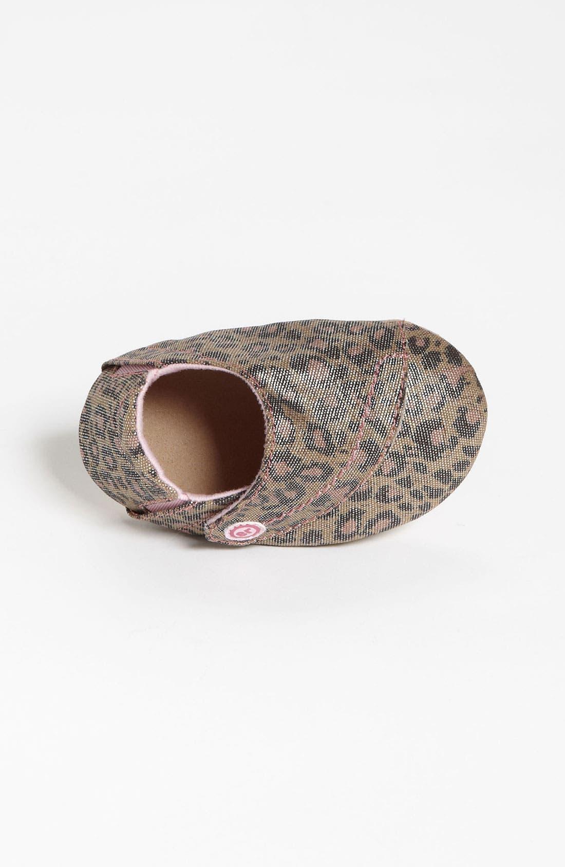 Alternate Image 3  - Stride Rite 'Lush Leopard' Crib Shoe (Baby)