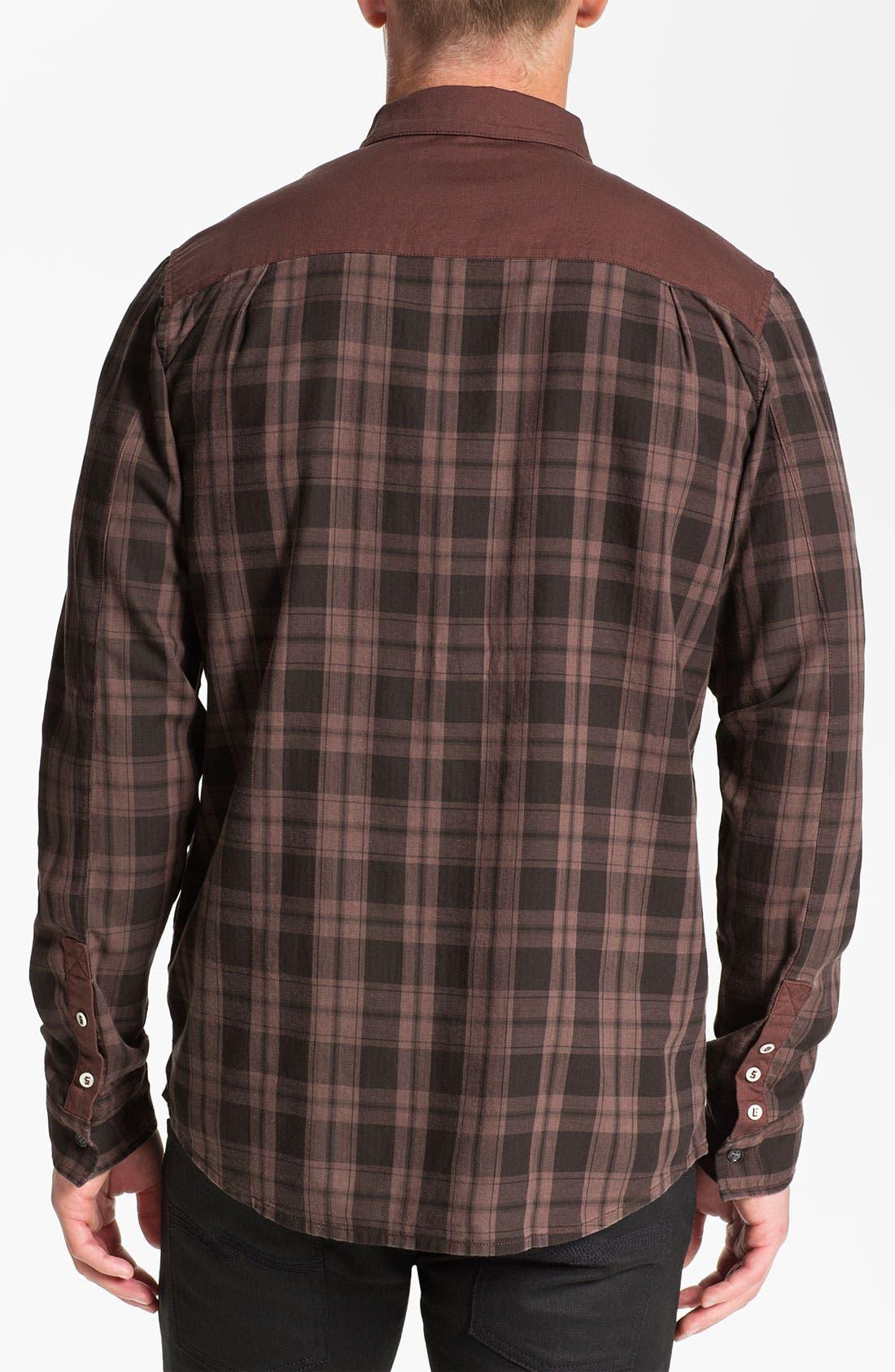 Alternate Image 2  - 55DSL 'Stenperl' Plaid Woven Shirt