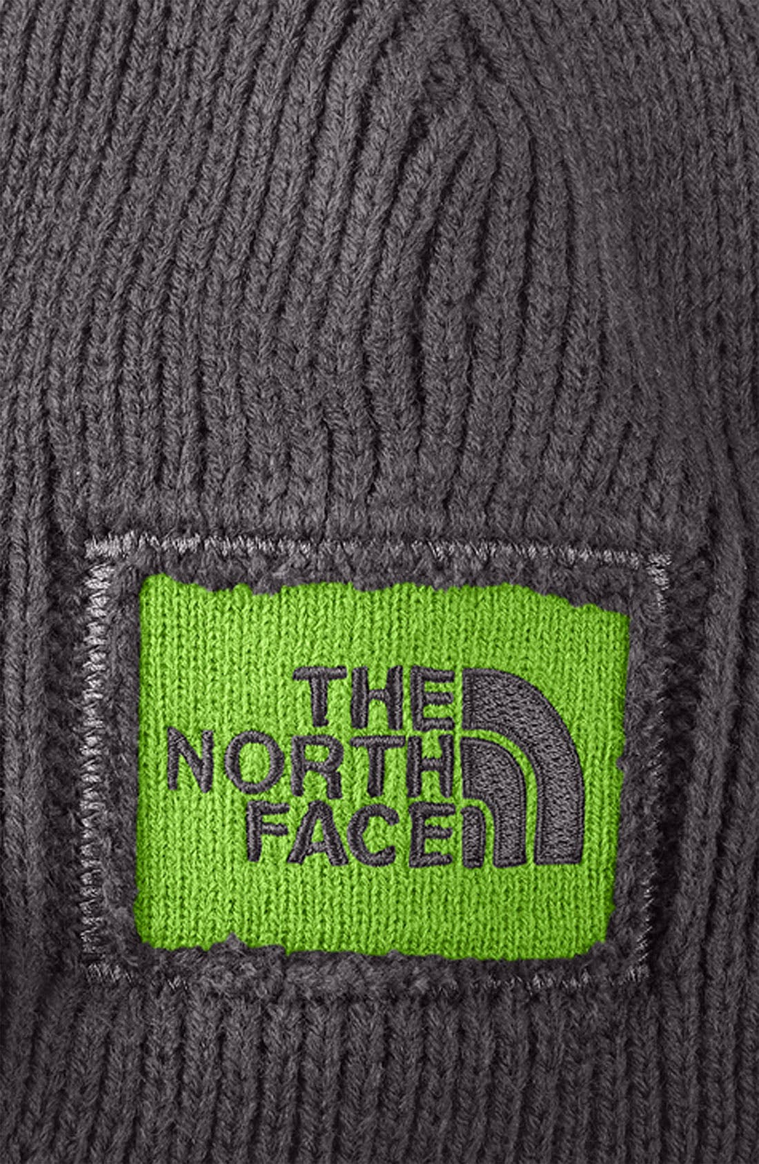 Alternate Image 2  - The North Face 'Sideways' Visor Beanie (Boys)