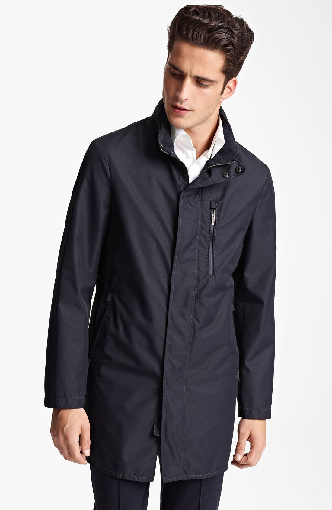 Alternate Image 1 Selected - Armani Collezioni 'Caban New Matrix' Rain Jacket