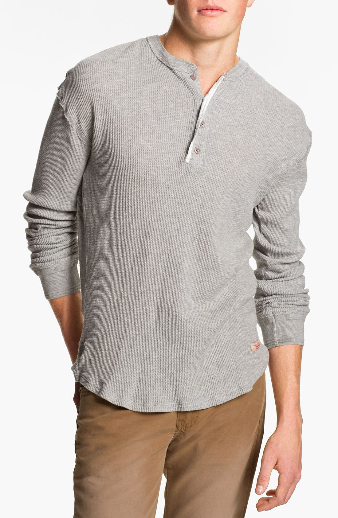 Alternate Image 1 Selected - Scotch & Soda 'Grand Dad' Thermal Henley