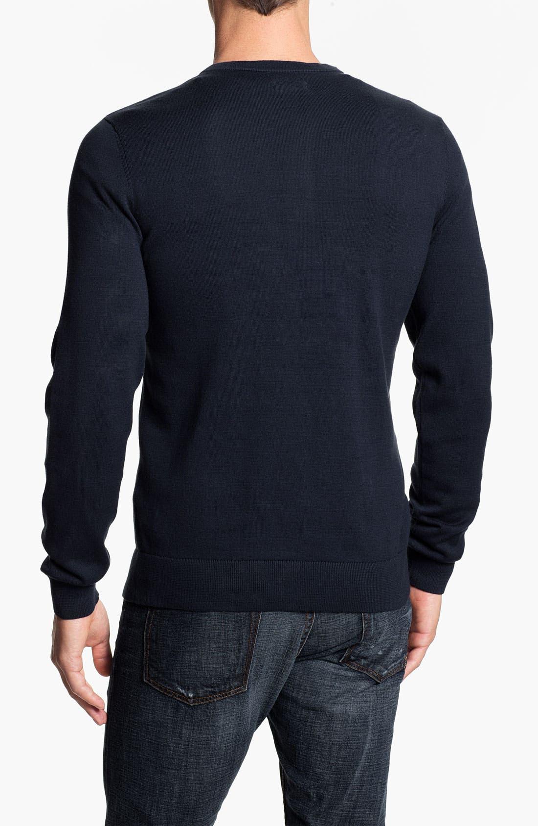 Alternate Image 2  - Public Opinion Y-Neck Henley Sweater