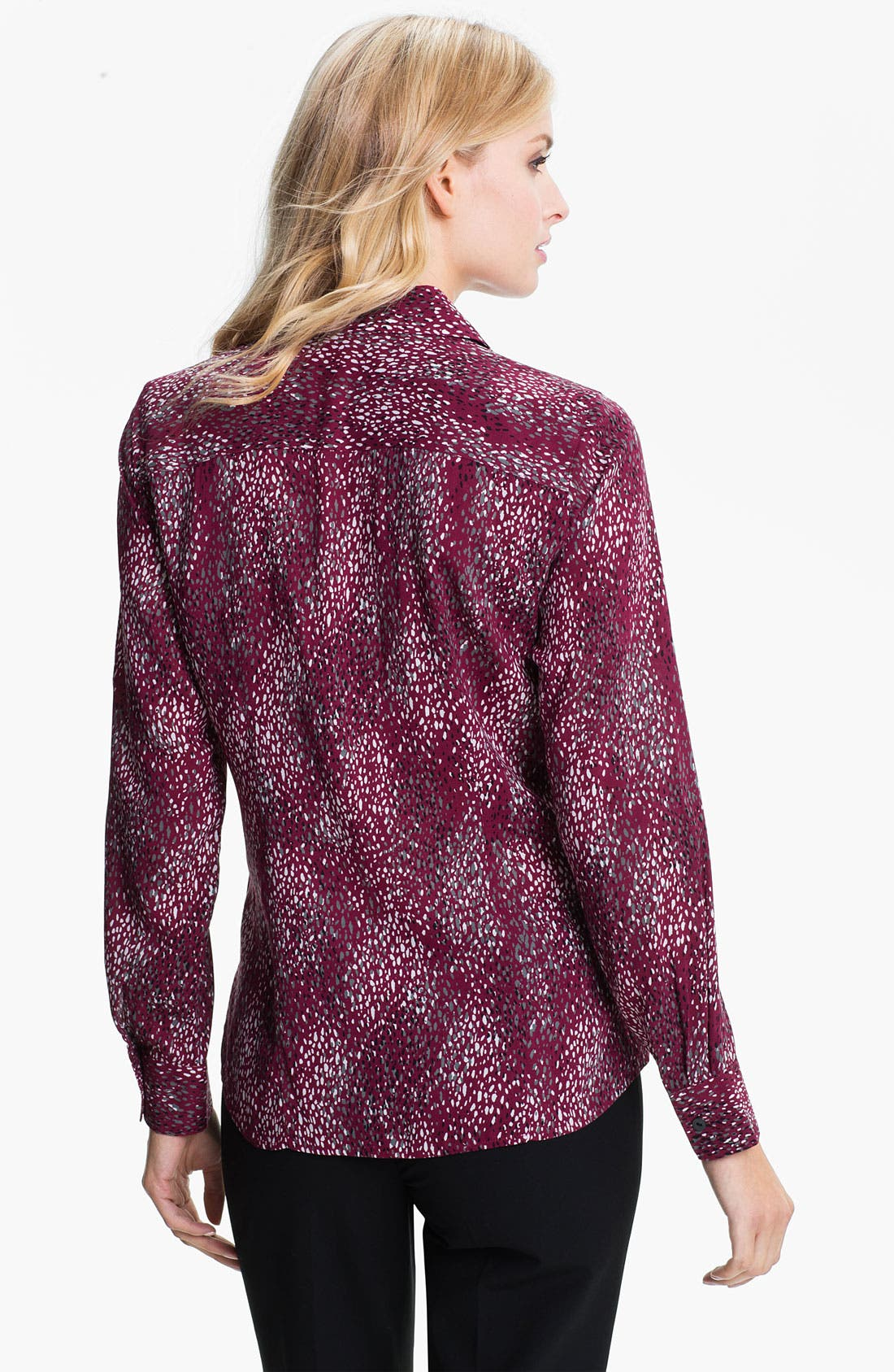 Alternate Image 2  - Foxcroft 'Scattered Dots' Shirt