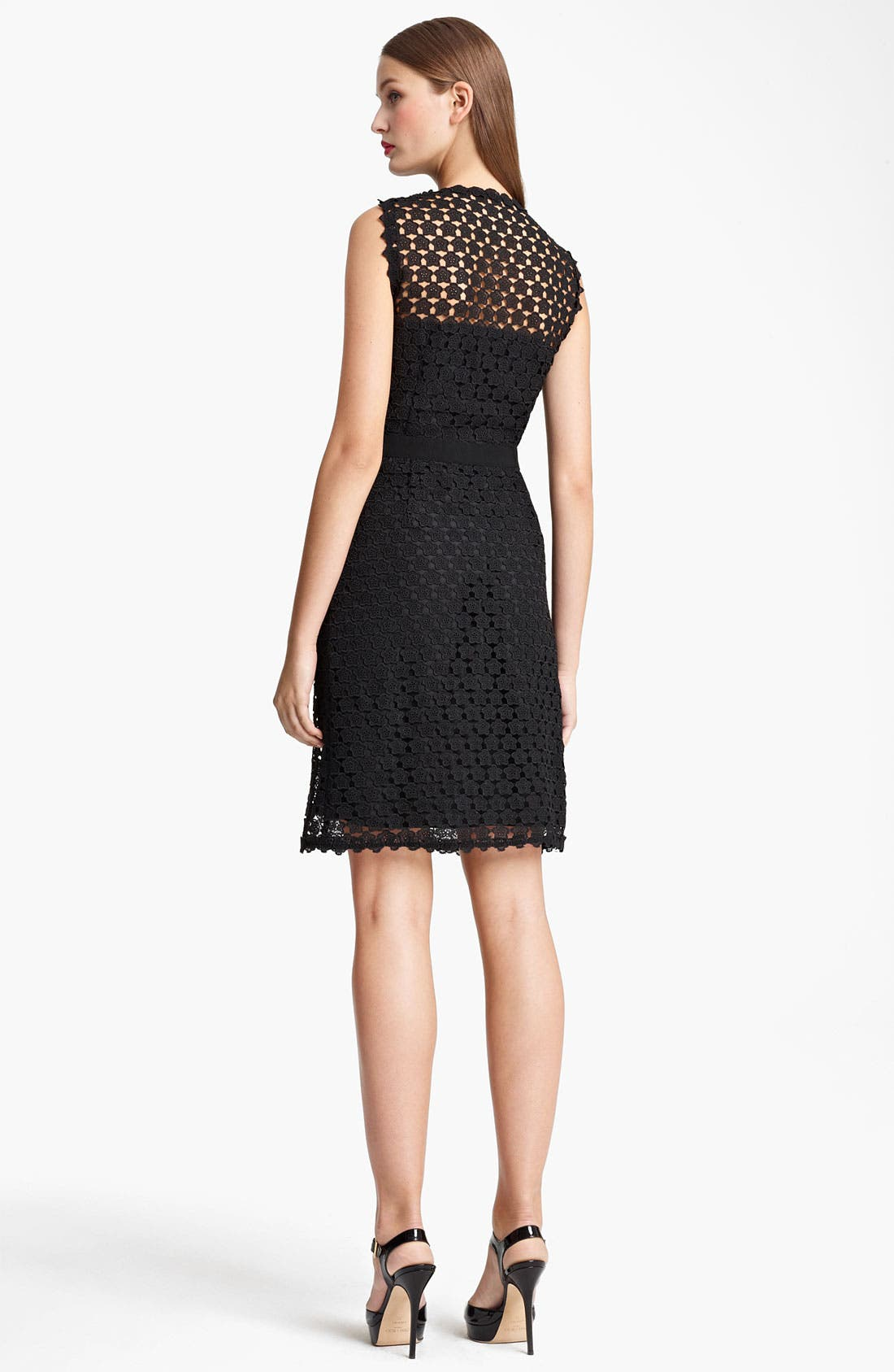 Alternate Image 2  - Moschino Cheap & Chic Embroidered Dress
