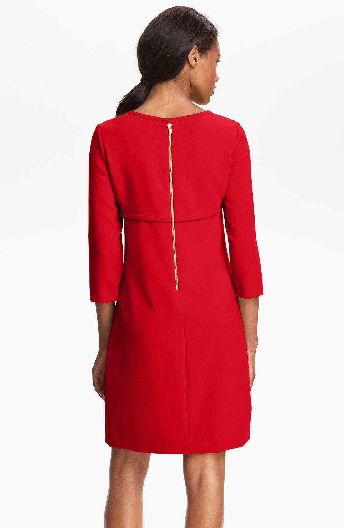 Alternate Image 2  - Tahari Ponte Shift Dress