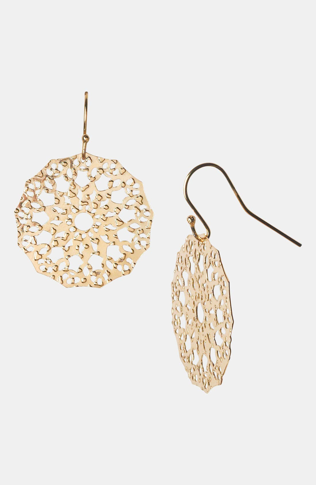 Alternate Image 1 Selected - Argento Vivo 'Mini' Drop Earrings (Nordstrom Exclusive)