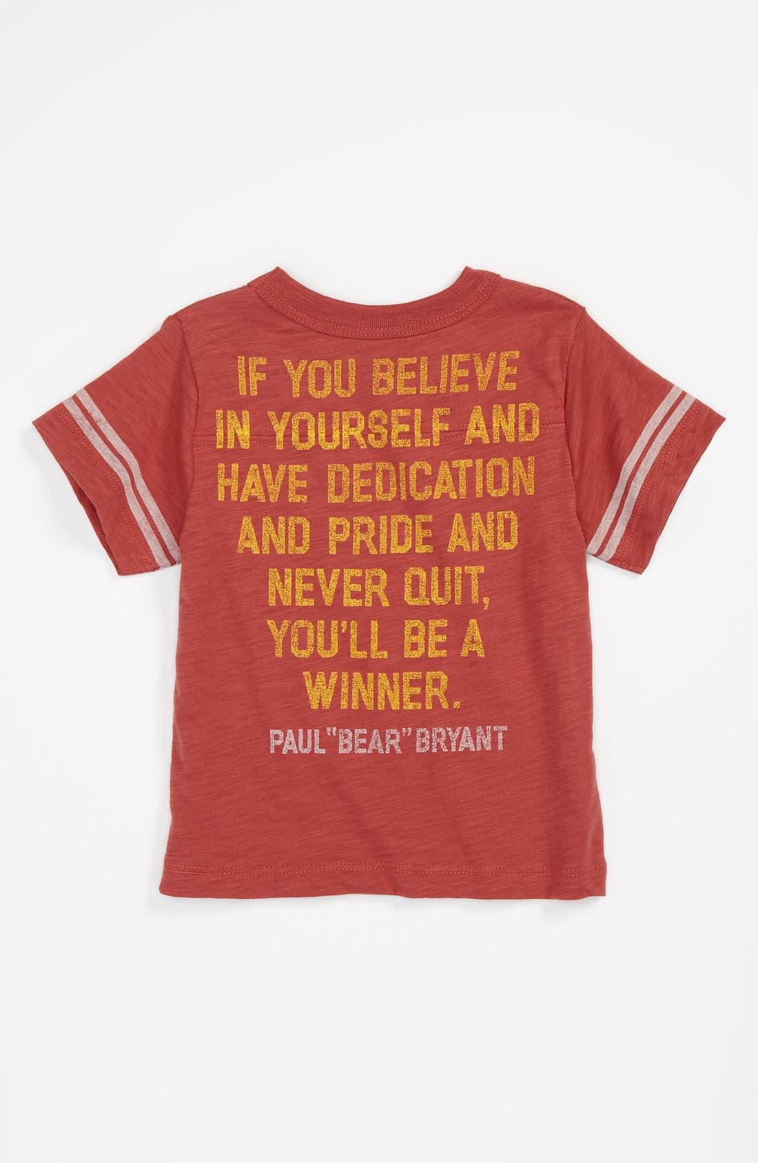 Alternate Image 2  - Peek 'Football Champs' Jersey T-Shirt (Infant)
