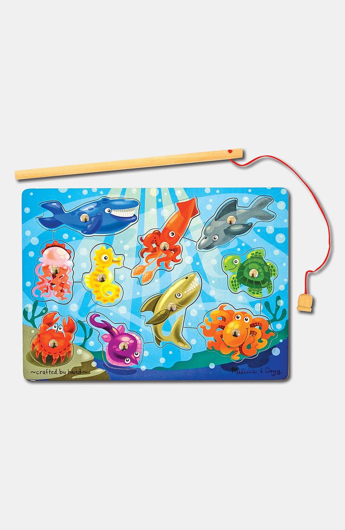 Alternate Image 1 Selected - Melissa & Doug 'Fishing' Magnetic Puzzle Game
